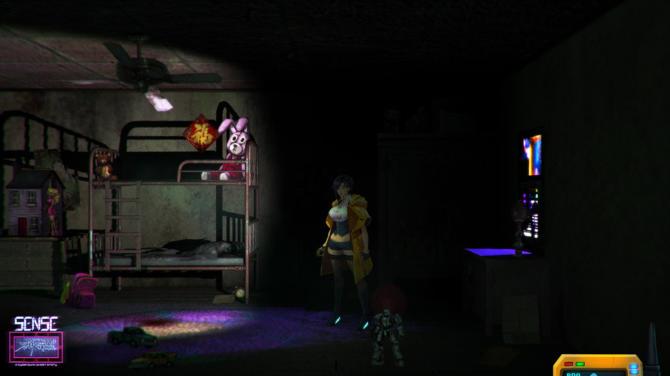 Sense A Cyberpunk Ghost Story free download