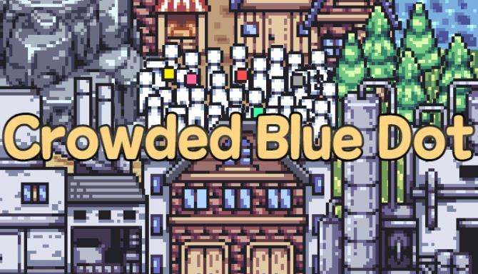 Crowded Blue Dot Free