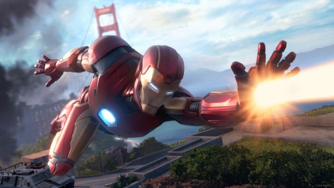 Marvels Avengers cracked