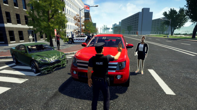 Police Simulator Patrol Duty cracked