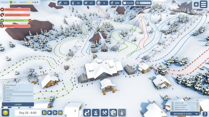 Snowtopia Ski Resort Tycoon free download