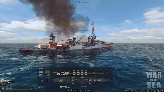 War on the Sea cracked