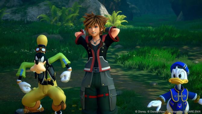 Kingdom Hearts III and Re Mind cracked