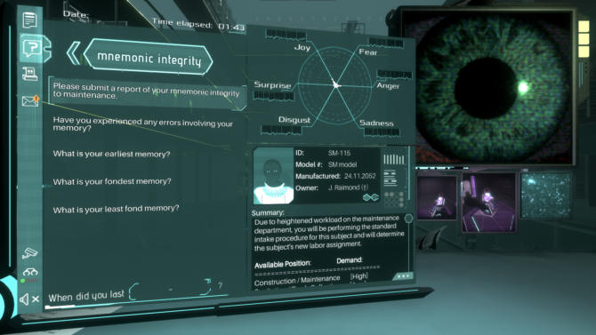 Silicon Dreams cyberpunk interrogation cracked