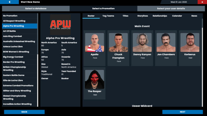 Pro Wrestling Sim free cracked