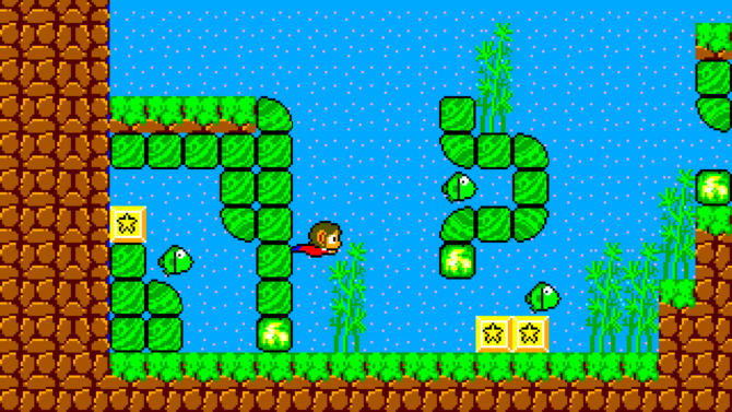 Alex Kidd in Miracle World DX cracked