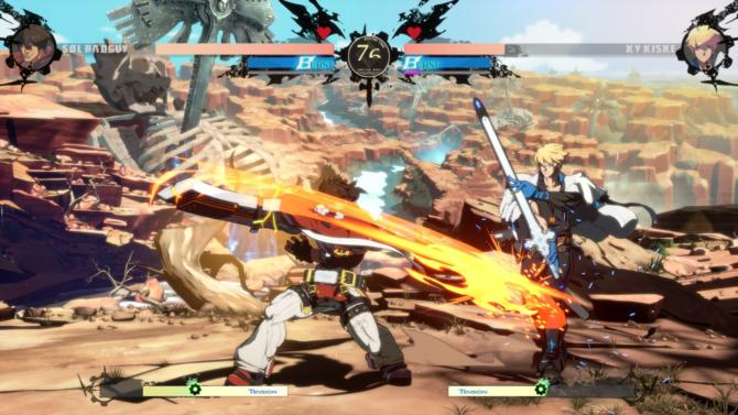 GUILTY GEAR STRIVE cracked
