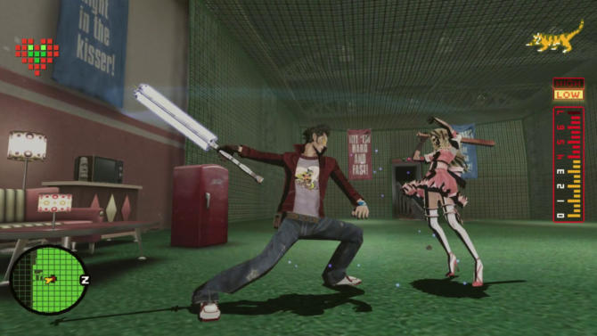 No More Heroes cracked
