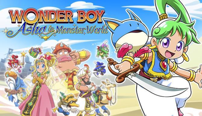 Wonder Boy Asha in Monster World Free