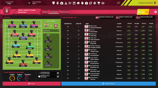 Rugby League Team Manager 3 free cracked