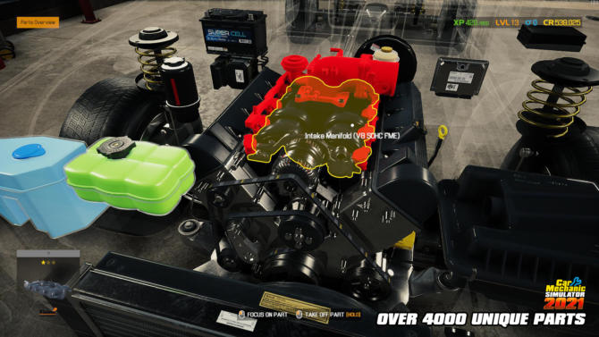 Car Mechanic Simulator 2021 free cracked